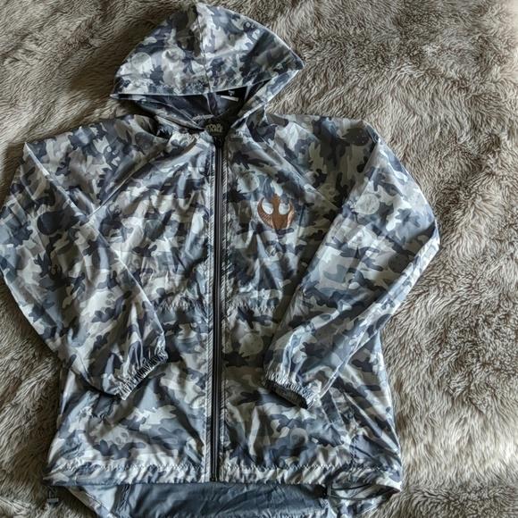 184f1b63a76 Disney Star Wars Rebel Alliance lightweight jacket